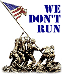 We Don't Run!