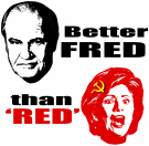 Better Fred than Red or Dead