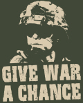 Give War a Chance!