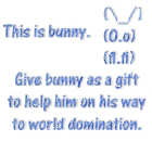 Give bunny as a gift
