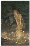 NEW: Midsummer Eve by Edward Robert Hughes