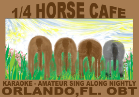 HUMOR/1/4 HORSE CAFE
