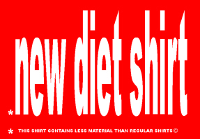 HUMOR/NEW DIET SHIRT