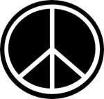 Peace - Black and White