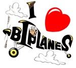 I LOVE BIPLANES