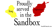 Proudly served in the sandbox