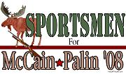 Sportsment for McCain/Palin Shirts