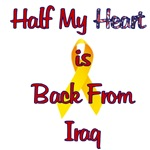 Half my heart is back from Iraq