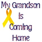 My grandson is coming home