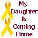 My daughter is coming home