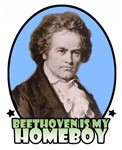 Beethoven is my homeboy