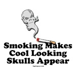 Smoking Makes Skulls Appear