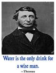 THOREAU WATER QUOTE