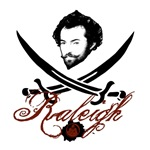 Sir Walter Raleigh Pirate Insignia T-shirts