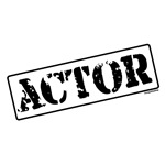 Actor Stamp T-shirts & Gifts