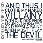 Shakespeare Grunge Quotes T-shirts & Gifts