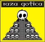 Dia de los muertos Aztec pyramid