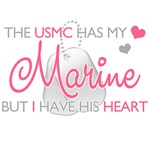 The USMC has my Marine But I have his heart