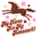 My Horse Ate My Homework! School joke saying