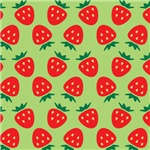 Strawberry Pattern (Green)