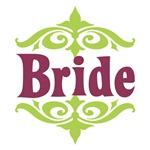 Bride: Moroccan (Peridot and Mauve)