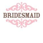 Bridesmaid (Mocha and Baby Pink)