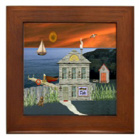 Country Village Series© Framed Tiles