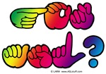 Rainbow GOT ASL? Square