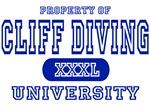 Cliff Diving University T-Shirts