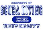 Scuba Diving University T-Shirts
