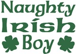 Naughty Irish Boy T-Shirts