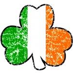 Distressed Tricolor Shamrock T-Shirts