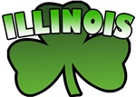 Illinois Shamrock T-Shirts