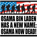 Osama Now Dead T-Shirts