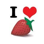 I Heart (Love) Strawberries