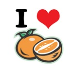 I Heart (Love) Oranges