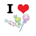 I Heart (Love) Candy (Suckers)