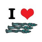 I Heart (Love) Asparagus
