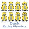 Eating Disorders Awareness Ribbon Ducks