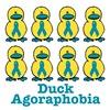 Agoraphobia Awareness Ribbon Ducks