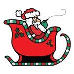 Santa Clause in Sleigh