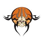 Tribal Trident of Death Skull