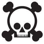 Skull & Crossbones (Day of the Dead)