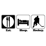 Eat. Sleep. Hockey.