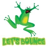 Let's Bounce Silly Hopping Frog