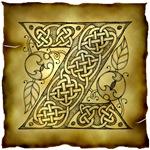 Celtic Knotwork Letter Z