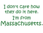 I'm From Massachusetts