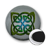 Celtic Agate Knot Magnets
