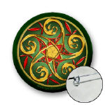 Buttons of Celtic Designs