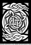 Celtic Knotwork Spin Illustration